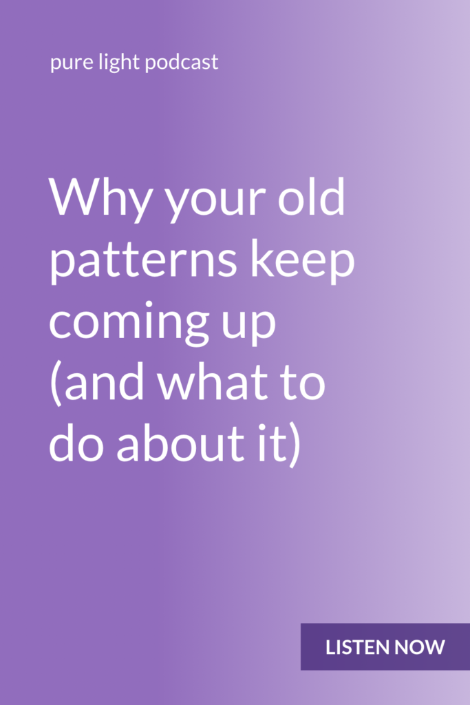 Do your old patterns keep resurfacing? This isn't a sign that you're a failure, or that you need more commitment, self-control or willpower. It just means you need more awareness. #awareness #purelightpodcast   ailikuutan.com