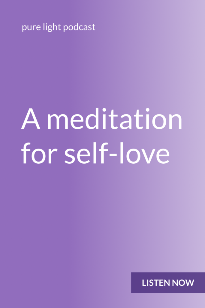 Want to experience more love in your life? Try this Kundalini meditation to create self-love. #Kundalini #purelightpodcast | ailikuutan.com
